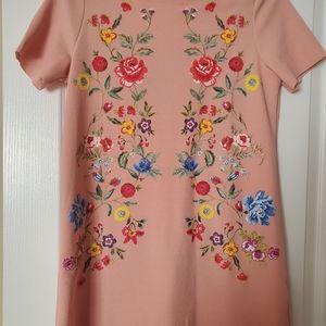 Zara printed rubberized tunic